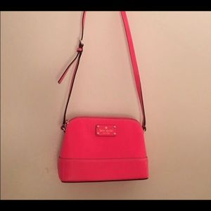 Kate Spade Hot Pink Crossbody Great Condition